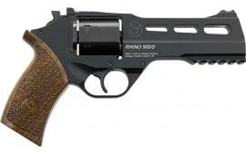 "Chiappa 340.245 Rhino 50DS Black 9mm 5"" 6rd Revolver"