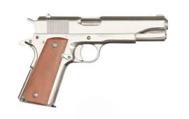 Rock Island Armory 1911 GI FSNP 38 Super Pistol, Full Size 9rd Nickle CA LEG - 51814