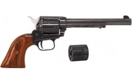 "Heritage SRR22MB6AS Rough Rider22LR/22 Mag 6.5"" 6rd AS Cocobolo Grip Blued Finis Revolver"