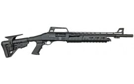 "RZ17 Tactical 18.5"" Pump Action 12GA Shotgun"