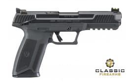 """Ruger 16401 Model 57 5.7x28mm Semi-Auto Pistol 4.9"""" Barrel Black"""