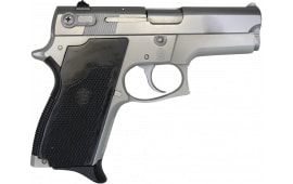 """S&W 669 Semi-Auto SA/DA Pistol 3.5"""" Barrel 9mm 12-rd Stainless Slide Over Satin Lightweight Frame - Surplus Good to Excellent Condition"""