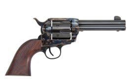 """1873 Single Action Revolver .45LC Frontier Model 4.75"""" Barrel Color-Case Hardened, by Traditions - SAT73-002BEA"""