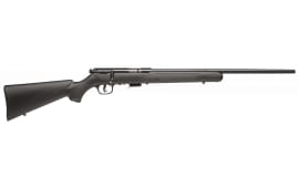 "Savage Arms 93R17 F 17HMR Rifle, 21"" Blue Synthetic Accu-Trigger - 96709"