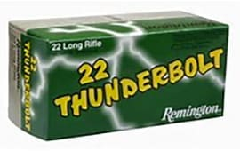 Remington Thunderbolt .22 LR 40gr LRN Lead Round Nose Ammo - 500rd Brick
