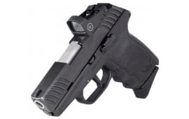 "SCCY DVG-1 Striker Fired Compact 9mm 10rd 3.10"" Barrel Black Frame/Slide W/ Crimson Trace Red Dot Optic - DVG-1CBRD"
