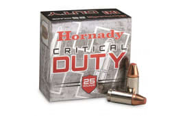 Hornady 90236 Critical Duty 9mm Luger 135 GR FlexLock - 250 Round Case
