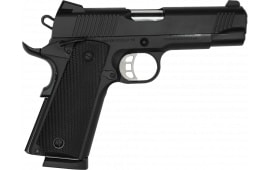 "Tisas 1911 Carry B45 4.25"" Barrel 8+1 45 ACP - Black Cerakote"