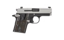 Sig Sauer P938 9mm Pistol, Blackwood 2Tone NS Ambisafety 6rd - 9389BGAMBI