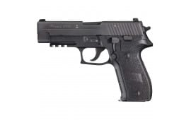 Sig Sauer P226 9mm Pistol, Black Anchor Engraving CA Legal 3 10rd - MK25CA