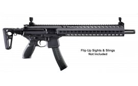 """Sig Sauer MPX 9MM Rfle, 16"""" Carbine Black Fold Sights and Stock - MPXC9KMT"""