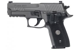 "Sig Sauer P229 Legion 9mm Pistol, 3.9"" Mid Size Gray X-RAY3 Day/Night Sights 10rd - 229R9LEGION"