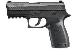 Sig Sauer P320 Carry 40 S&W Pistol, Black Nitron Cont Sight 14rd - 320CA40B