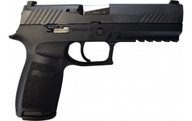 Sig Sauer P320 Pistol Full Size 9mm W / Night Sights, Police Trade-ins - Factory Refurbished by Sig