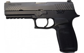 Sig Sauer P320 Pistol Full Size 40 S&W W / Night Sights, Police Trade-ins - Factory Refurbished by Sig