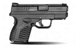 """Springfield Armory XD-S 9mm Slimline Ultra Compact 3.3"""" Black 7+1 - XDS9339BE"""
