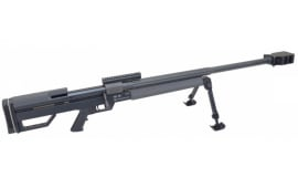 """Steyr HS .50, 50 BMG, 33"""", Single Shot, w/ Bi-Pod and Factory Carry Case 610131"""