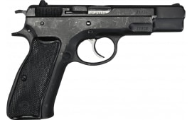 "CZ 75 ""Pre-B"" Pistol DA/SA 9mm 4.75"" Barrel w/ Adjustable Sights Black Finish -Surplus Good Condition"