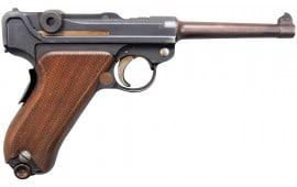 [AUCTION] Swiss Luger Model 1906, 7.65 Caliber Semi-Auto Pistol Excellent Surplus Condition