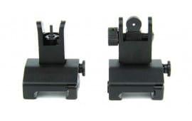 Tacfire IS002 AR FRT & Rear LOW POP UP Sights