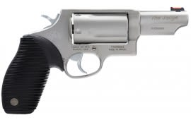 """Taurus 45-410 Judge 45LC Revolver, Stainless Steel 5rd 2.5"""" BBL - 2441039T"""