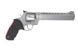 Taurus 444 .44 Magnum Revolver Raging Bull 8 3/8 Matte Stainless Steel AS - 2444089