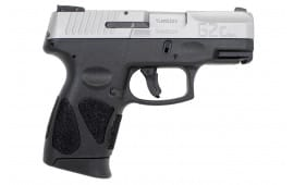 Taurus 1G2C93912 G2CSS 9mm 12rd Black / Stainless Steel
