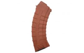 Tapco AK-47 30 Round Mag, Polymer 7.62x39 MAG0630 16648 Orange