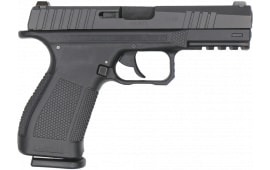 "TARA TM-9 Semi-Automatic Double-Action Striker Fired Pistol 4"" Barrel 9mm - Includes (3) Mags, Backstraps and Carrying Case"