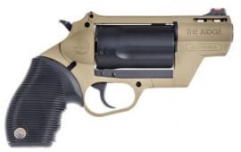 "Taurus Judge Public Defender DA/SA 45 LC/.410 2"" 5 FDE Polymer - 2-441021FDE"
