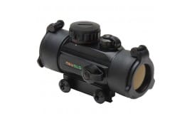 TruGlo Red Dot 30mm Rifle Scope, Red/Green Dot Dual Color Single Reticle - TG8030DB