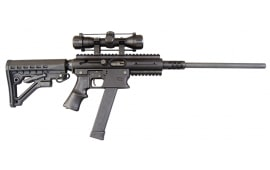 TNW Firearms Aero Survival ASR Rifle 9mm Carbine with Scope Black - NWASR9MMBLK