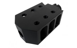 AK-47 Tanker Style Muzzle Brake / Compensator - Made in the U.S.A - MBR67 - 14x1 Left Hand Threaded for AK-47 Rifles