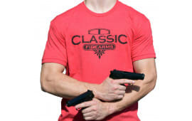 Classic Firearms T-Shirt - Red