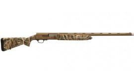 "Browning 0118413005 A5 Bolt 12GA 26"" 3"" Mossy Oak Shadow Grass Blades Synthetic Stock Aluminum Alloy Rcvr"