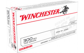 Winchester Ammo USA300BLK USA 300 Blackout 125 FMJ - 20rd Box