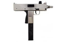Velocity Firearms VMAC 9mm Pistol with Electroless Nickel Finish VMAC9-101