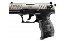 Walther Arms P22 22LR Pistol, 3.4 Nickel Ca Legal - 5120336