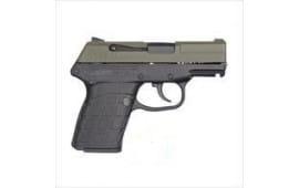 Kel-Tec PF9GRNBLK PF9 DA FS 7rdS Green SLIDE/BLACK Grip
