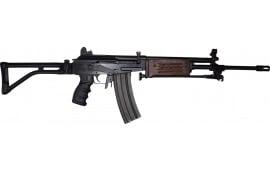 "JRA Gallant Rifle 5.56 NATO, Semi-Auto, 18"" Barrel w/ Compensator and Bipod, No Bayonet Lug, Wood Handguards - With Standard Shooters Pkg"