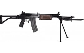 """JRA Gallant Rifle 5.56 Nato, Semi-Auto, 18"""" BBL W/ Compensator, Bipod and Bayonet Lug, Wood With Deluxe Shooters Package"""