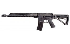 Windham Weaponry R16-SFS 300 Blackout Rifle, 16in Barrel Hardcoat Black Anodize - R16SFSDHHT300