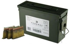 Federal 5.56mm NATO 62gr Green Tip Ammo on Stripper Clips XM855LC1AC1 - 420rd Can