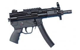 Zenith Z-5P Semi-Auto Roller Action Pistol, 9x19 mm, W / 3-30 Round Mags, by MKE Industries Turkey - HK MP5K w/ Threaded Barrel