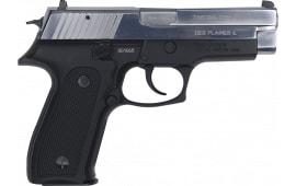 Zastava CZ999CS 9MM Full Size Pistol, 4.25 BBL 15 Round Capacity, Blued Black Frame W / Polished Chrome Slide - W / 2-15 Round Mags