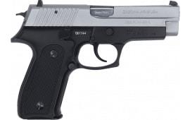 Zastava CZ999MCS - 9MM Full Size Pistol, 4.25 BBL 15 Round Capacity, Black Frame W /Matte Chrome Slide - W / 2-15 Round Mags