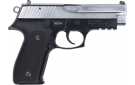 Zastava HEZ9CS EZ9 9MM Full Size Pistol, 4.25 BBL 15 Round Capacity, Blued Black Frame W / Polished Chrome Slide - W / 2-15 Round Mags