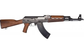 "Zastava Arms ZPAP M70 AK-47 Rifle 7.62x39 30rd - New 16.3"" Chrome-Lined Barrel, 1.5mm Receiver, and Bulged Trunnion - Wood Furniture - ZR7762WM"