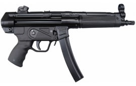 Zenith Z-5RS Semi-Auto Roller Action Pistol, 9x19 mm, W / 3-30 Round Mags, by MKE Industries Turkey - HK MP5 w/ Threaded Barrel