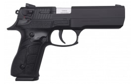 "SDS Imports -  ZIGANA T Semi-Auto Pistol 9mm 5.11"" Barrel Traditional Double Action, 2-15 Round Mags - Black"